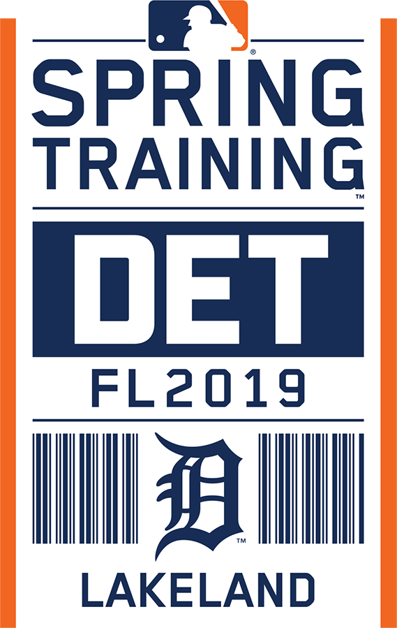 Detroit Tigers Logo Event Logo (2019) - Detroit Tigers 2019 Spring Training Logo SportsLogos.Net