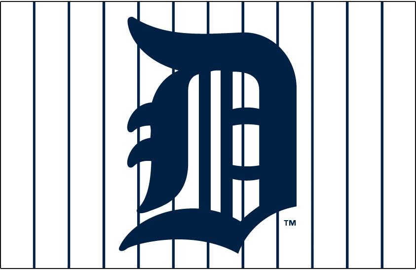 Detroit Tigers Logo Jersey Logo (1926) -  SportsLogos.Net