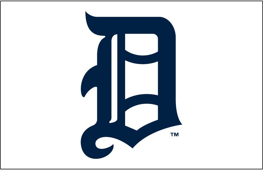 Detroit Tigers Logo Jersey Logo (1905-1907) -  SportsLogos.Net