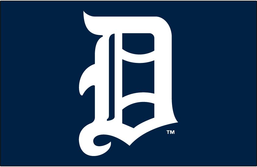 Detroit Tigers Logo Jersey Logo (1905-1906) -  SportsLogos.Net