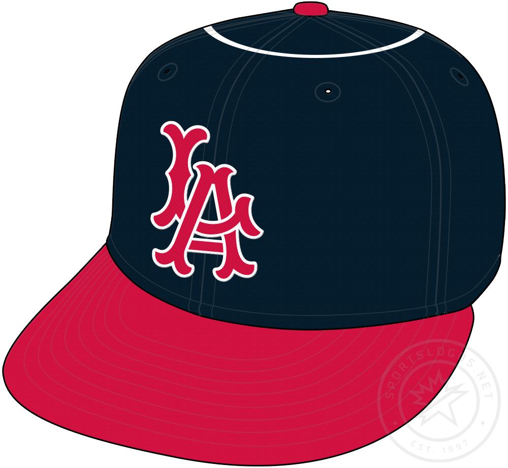 Los Angeles Angels Cap Cap (1961-1964) - Los Angeles Angels original cap with white halo on crown SportsLogos.Net