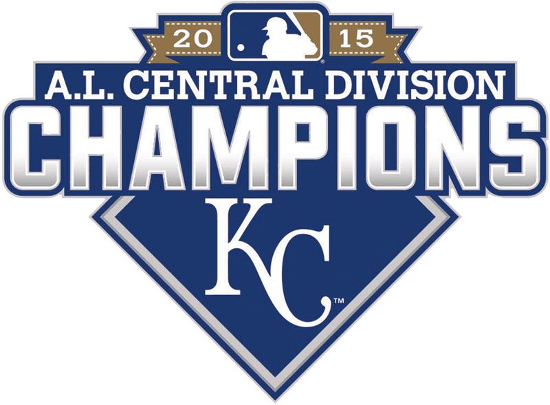 Kansas City Royals Logo Champion Logo (2015) - Kansas City Royals 2015 AL Central Division Champions logo SportsLogos.Net