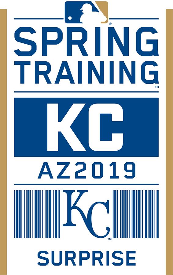 Kansas City Royals Logo Event Logo (2019) - Kansas City Royals 2019 Spring Training Logo SportsLogos.Net