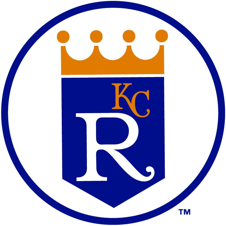 Kansas City Royals Logo Alternate Logo (1971-1992) - Shield logo without script in a circle SportsLogos.Net