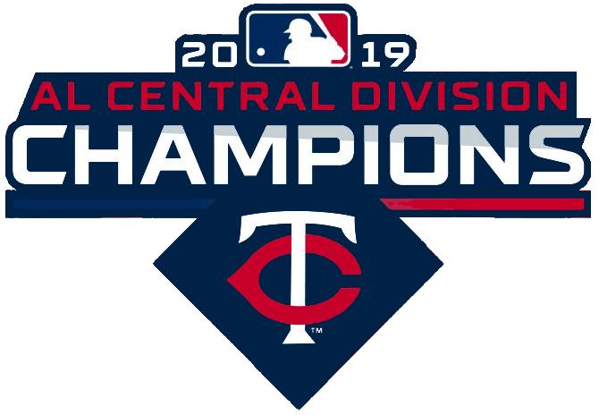 Minnesota Twins Logo Champion Logo (2019) - Minnesota Twins 2019 AL Central Division Champions Logo SportsLogos.Net