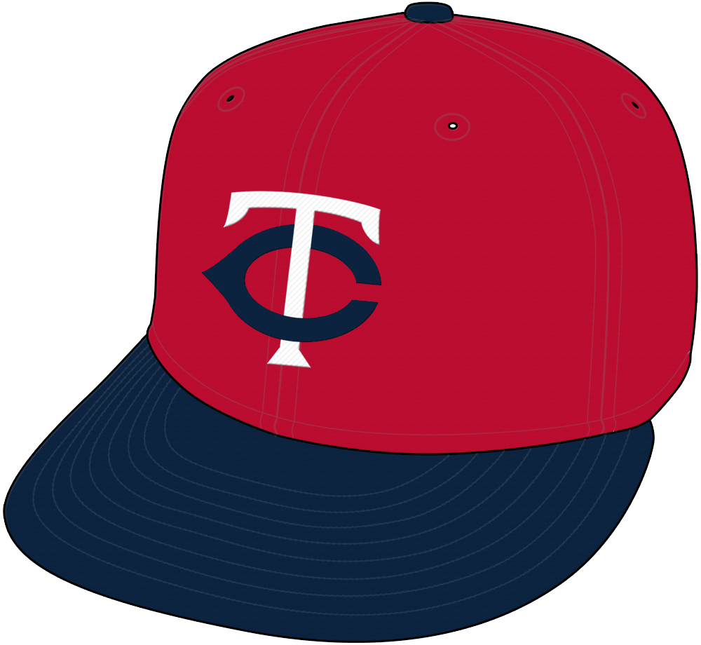 Minnesota Twins Cap Cap (2004-2009) -  SportsLogos.Net