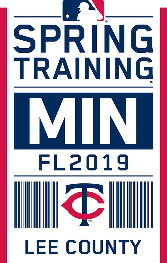Minnesota Twins Logo Event Logo (2019) - Minnesota Twins 2019 Spring Training Logo SportsLogos.Net