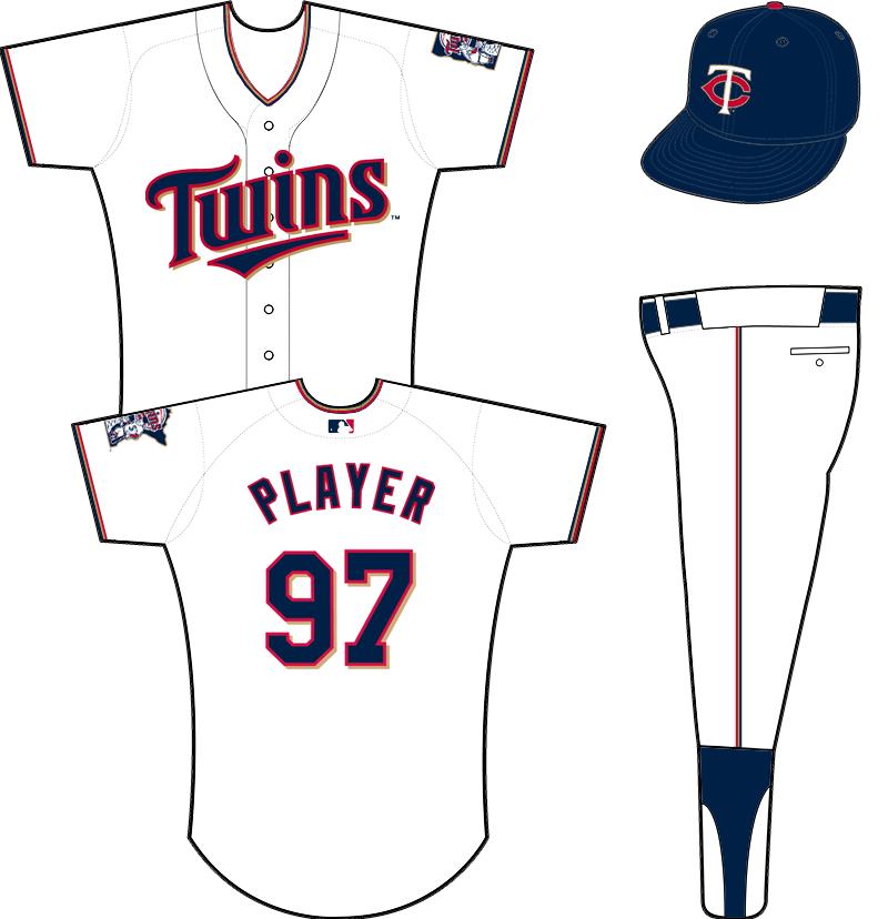 Minnesota Twins Uniform Home Uniform (2015-Pres) -  SportsLogos.Net