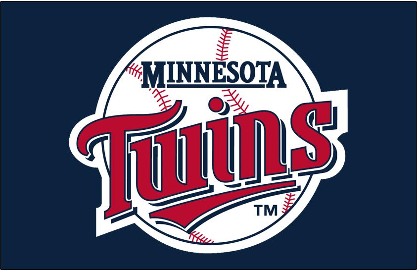 Minnesota Twins Logo Primary Dark Logo (1987-2009) -  SportsLogos.Net
