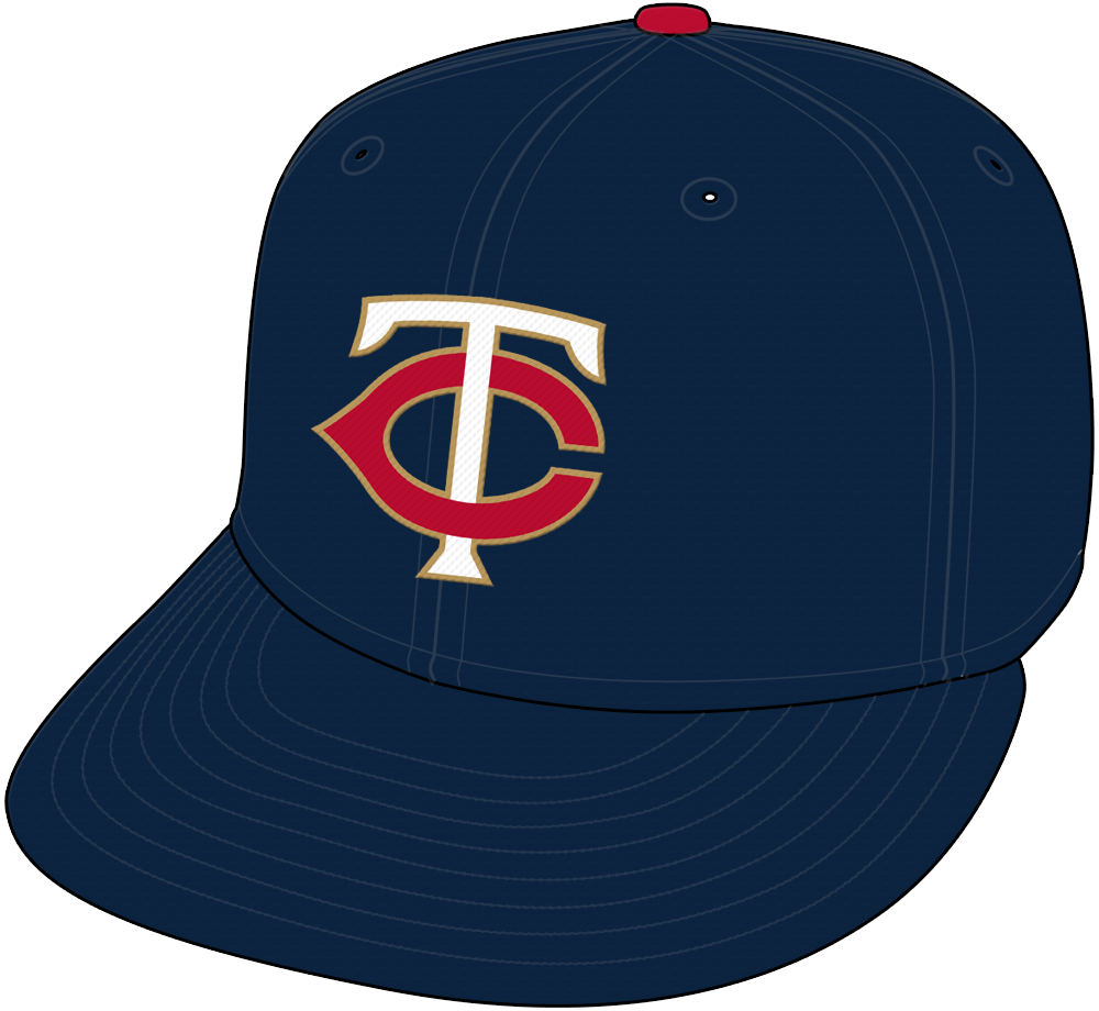 Minnesota Twins Cap Cap (2015-Pres) -  SportsLogos.Net
