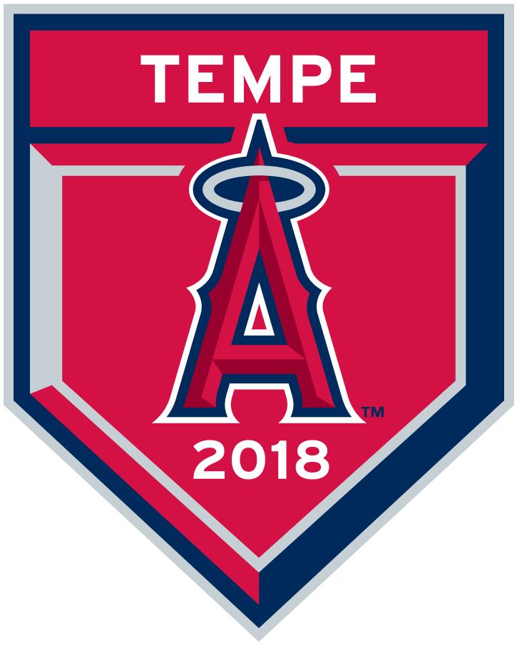 Los Angeles Angels Logo Event Logo (2018) - Los Angeles Angels 2018 Spring Training Logo SportsLogos.Net