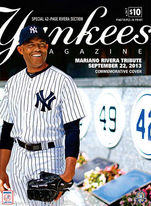 New York Yankees Program Program (2013) -  SportsLogos.Net