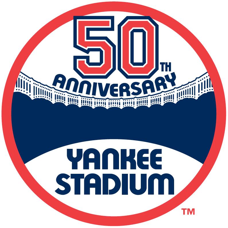 New York Yankees Logo Stadium Logo (1973) - 50th Anniversary of Yankee Stadium SportsLogos.Net
