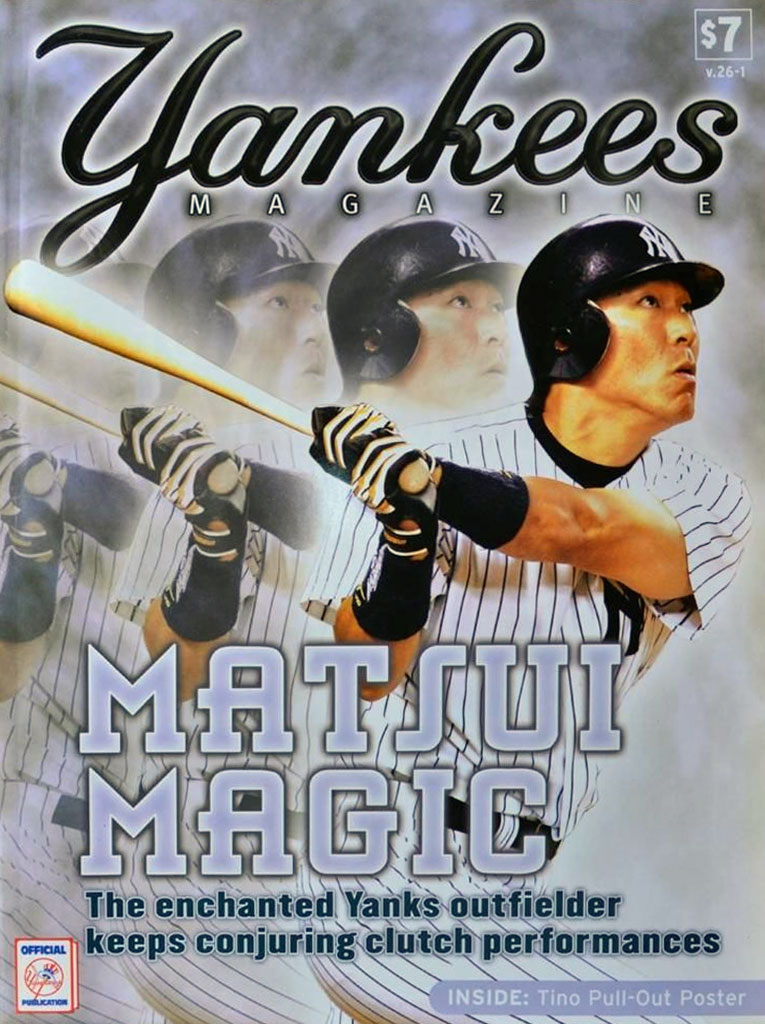 New York Yankees Program Program (2005) -  SportsLogos.Net