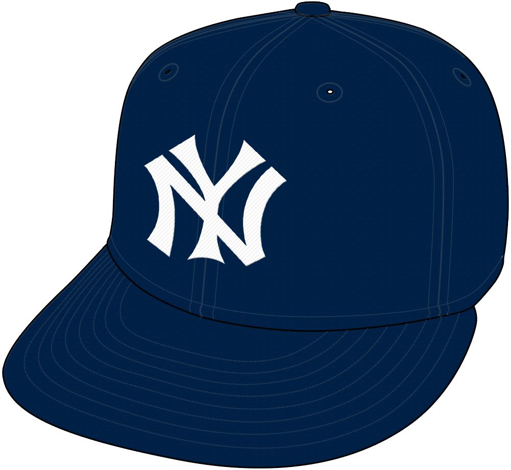 New York Yankees Cap Cap (1922-1933) - New York Yankees home and road cap worn from 1922 through 1933 SportsLogos.Net