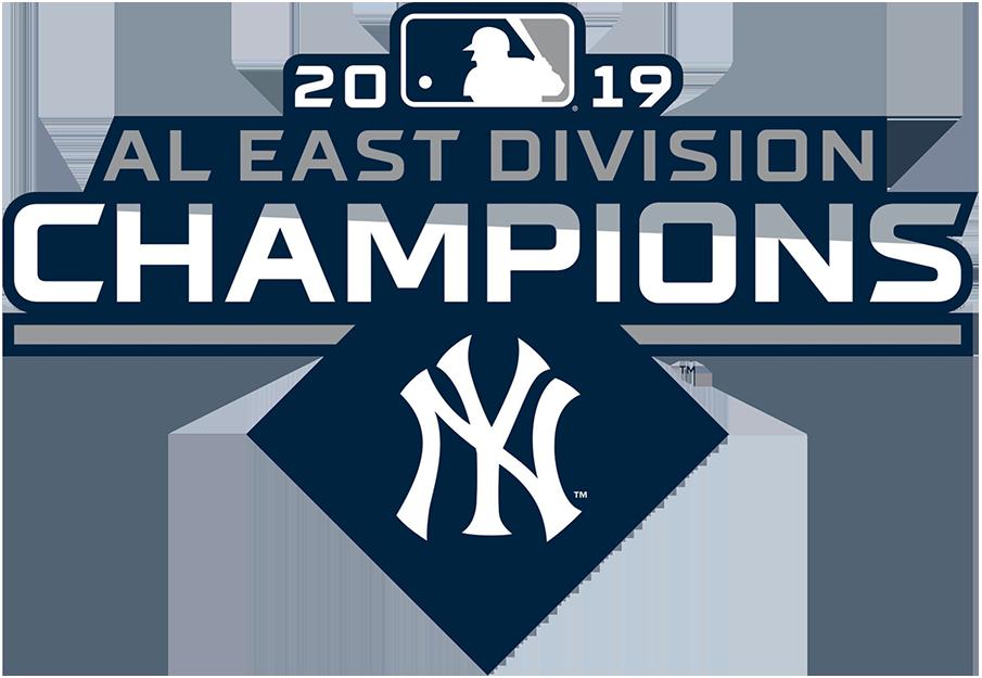 New York Yankees Logo Champion Logo (2019) - New York Yankees 2019 AL East Division Champions Logo SportsLogos.Net