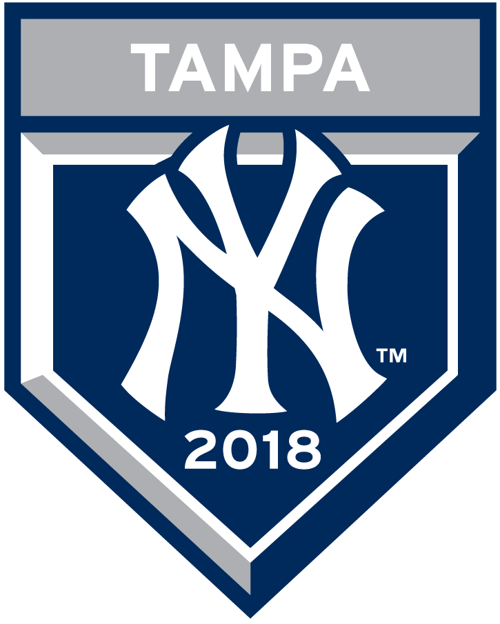 New York Yankees Logo Event Logo (2018) - New York Yankees 2018 Spring Training Logo SportsLogos.Net