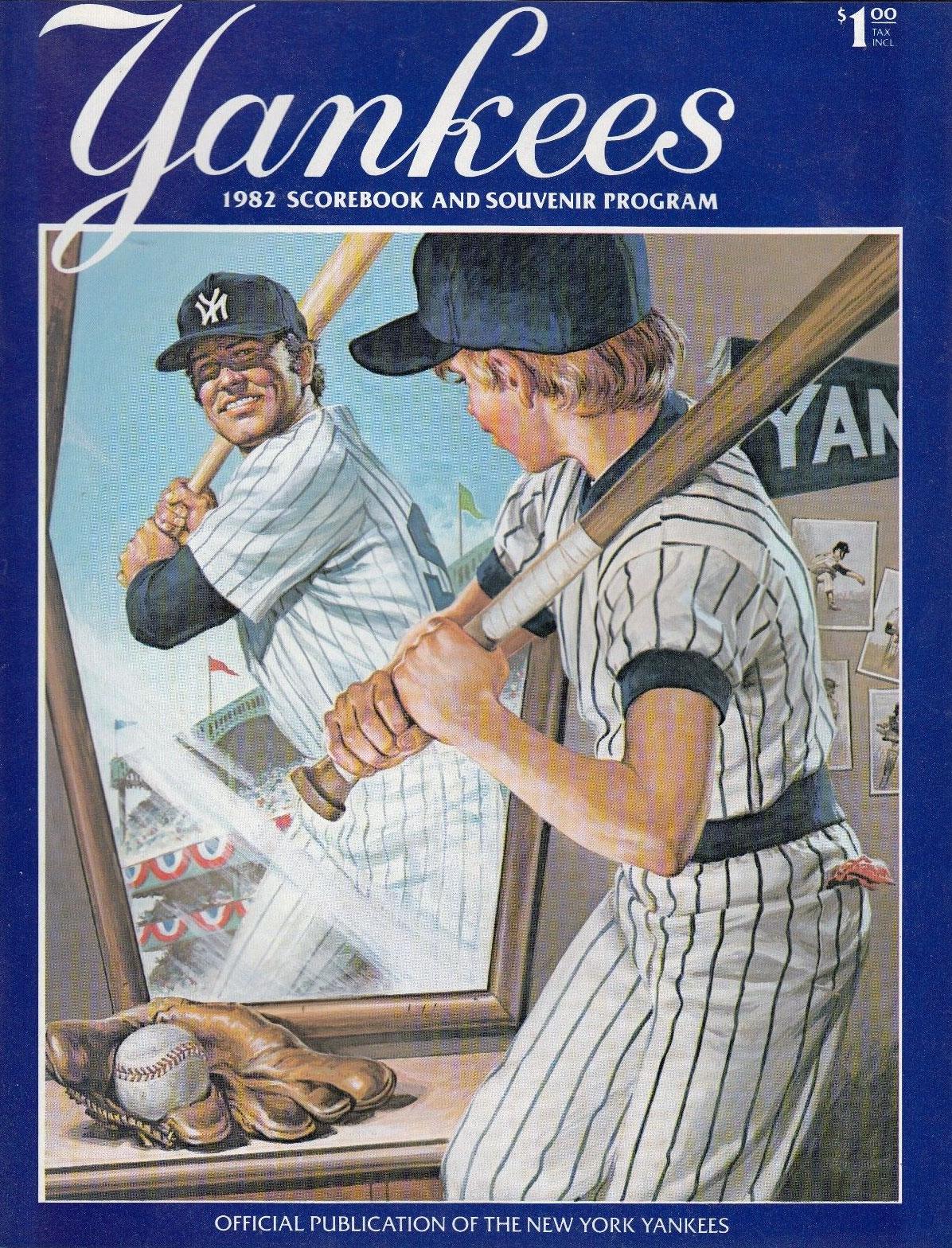 New York Yankees Program Program (1982) -  SportsLogos.Net