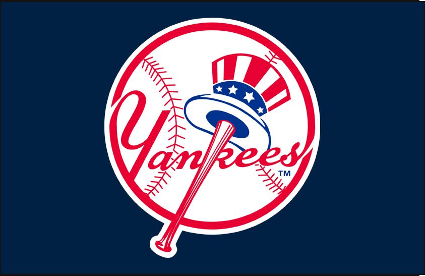 New York Yankees Primary Dark Logo - American League (AL) - Chris ...