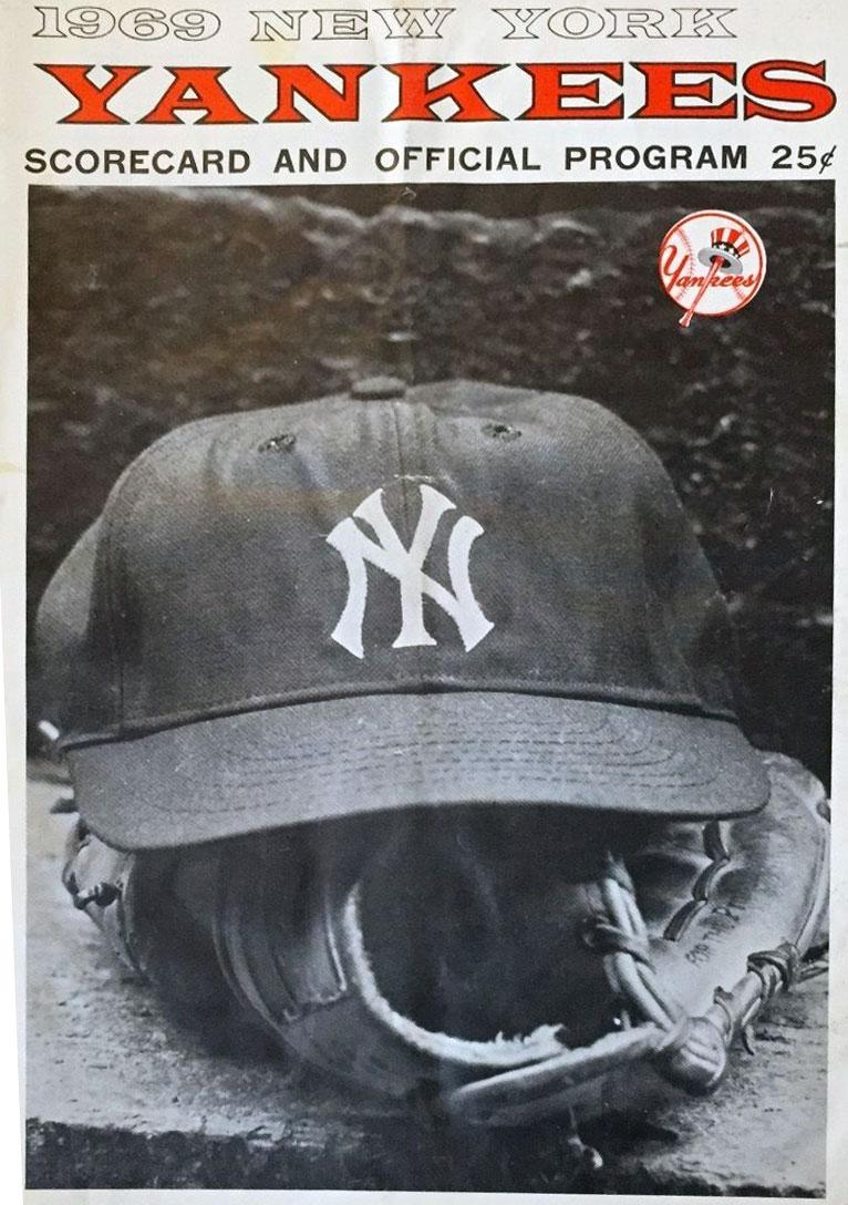 New York Yankees Program Program (1969) -  SportsLogos.Net