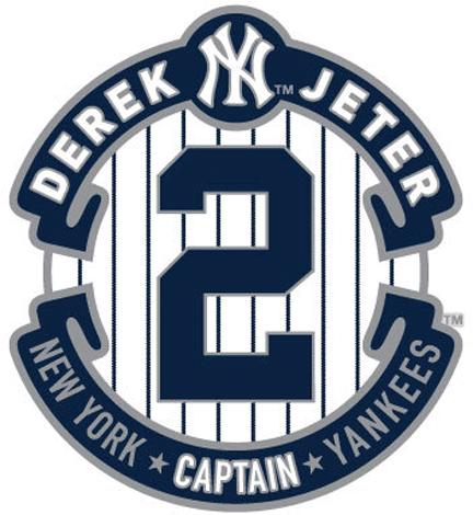 New York Yankees Logo Event Logo (2014) - Derek Jeter's final season logo SportsLogos.Net