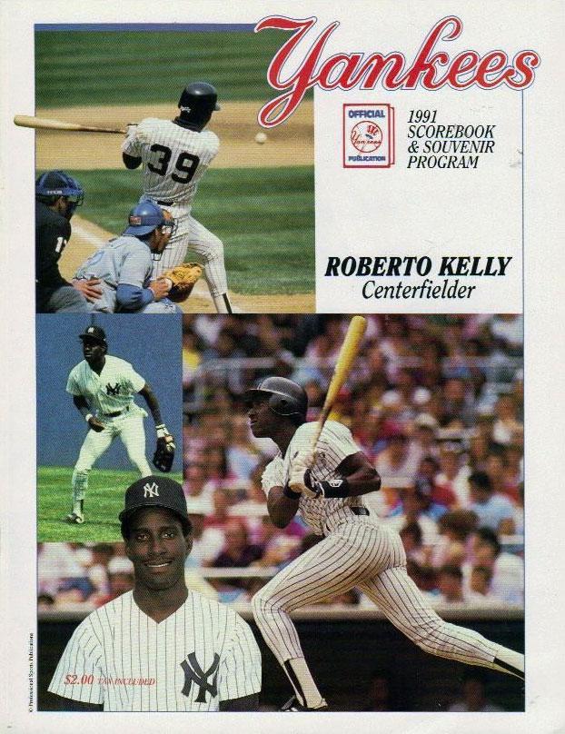 New York Yankees Program Program (1991) -  SportsLogos.Net