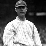 New York Yankees (1917) George Mogridge in New York Yankees home jersey, 1917