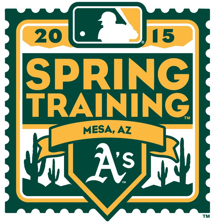 Oakland Athletics Logo Event Logo (2015) - 2015 Oakland Athletics Spring Training Logo SportsLogos.Net