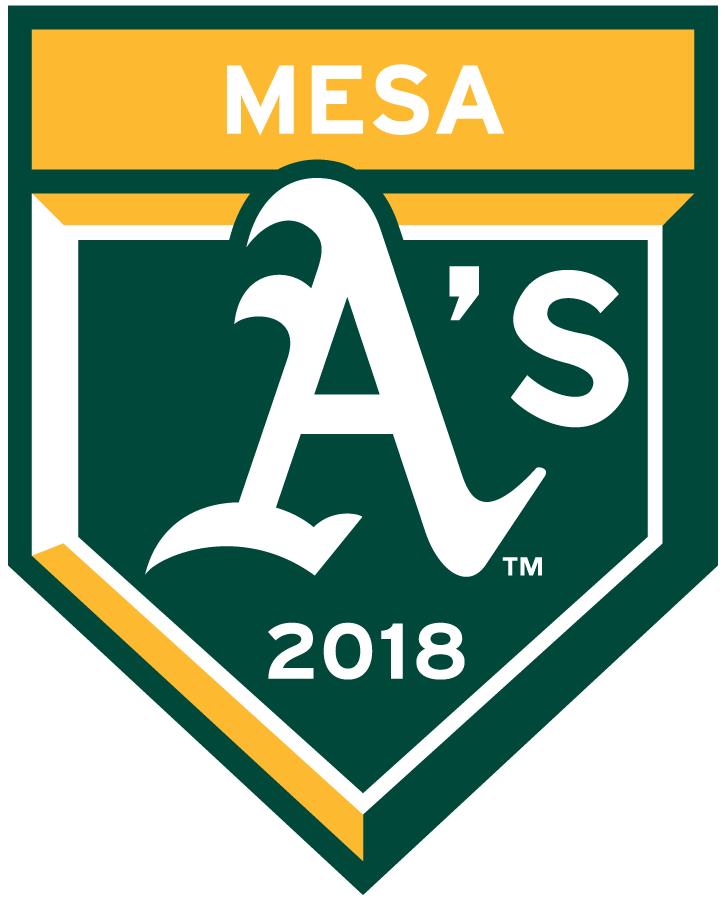 Oakland Athletics Logo Event Logo (2018) - Oakland Athletics 2018 Spring Training Logo SportsLogos.Net