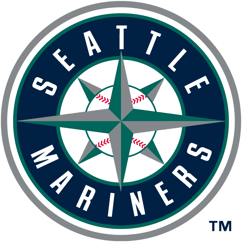 Seattle Mariners Logo Primary Logo (1993-Pres) - Known as the