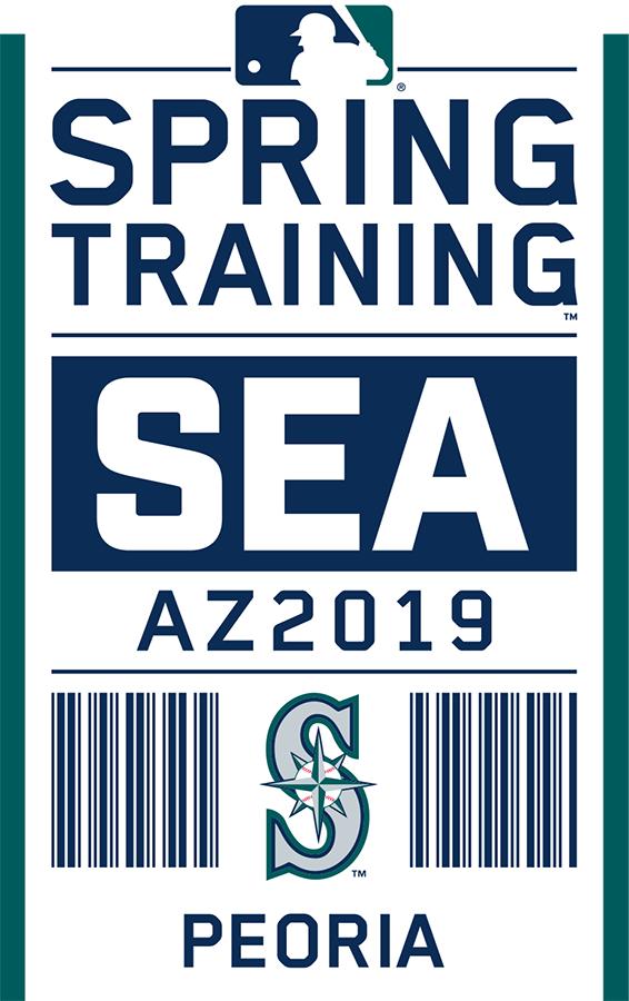 Seattle Mariners Logo Event Logo (2019) - Seattle Mariners 2019 Spring Training Logo SportsLogos.Net