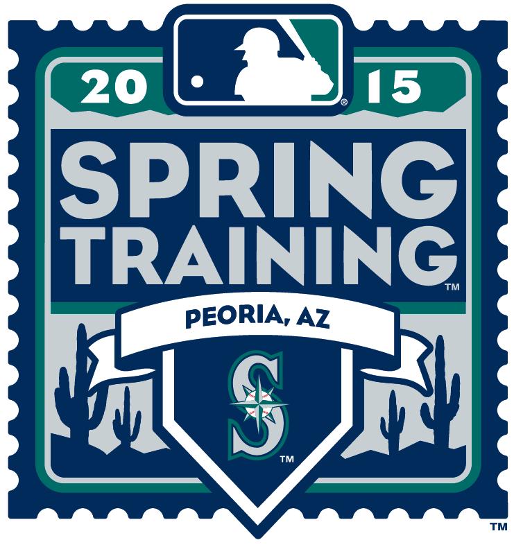 Seattle Mariners Logo Event Logo (2015) - 2015 Seattle Mariners Spring Training Logo SportsLogos.Net