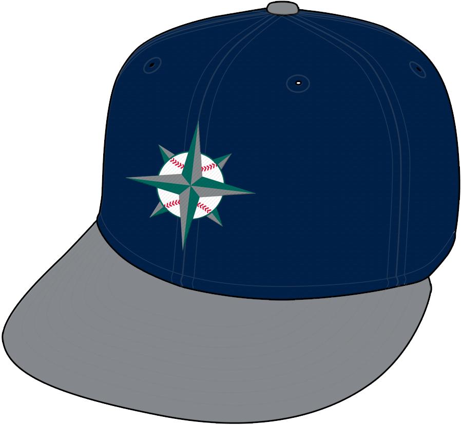 Seattle Mariners Cap Cap (1997-2000) - Alternate Cap SportsLogos.Net