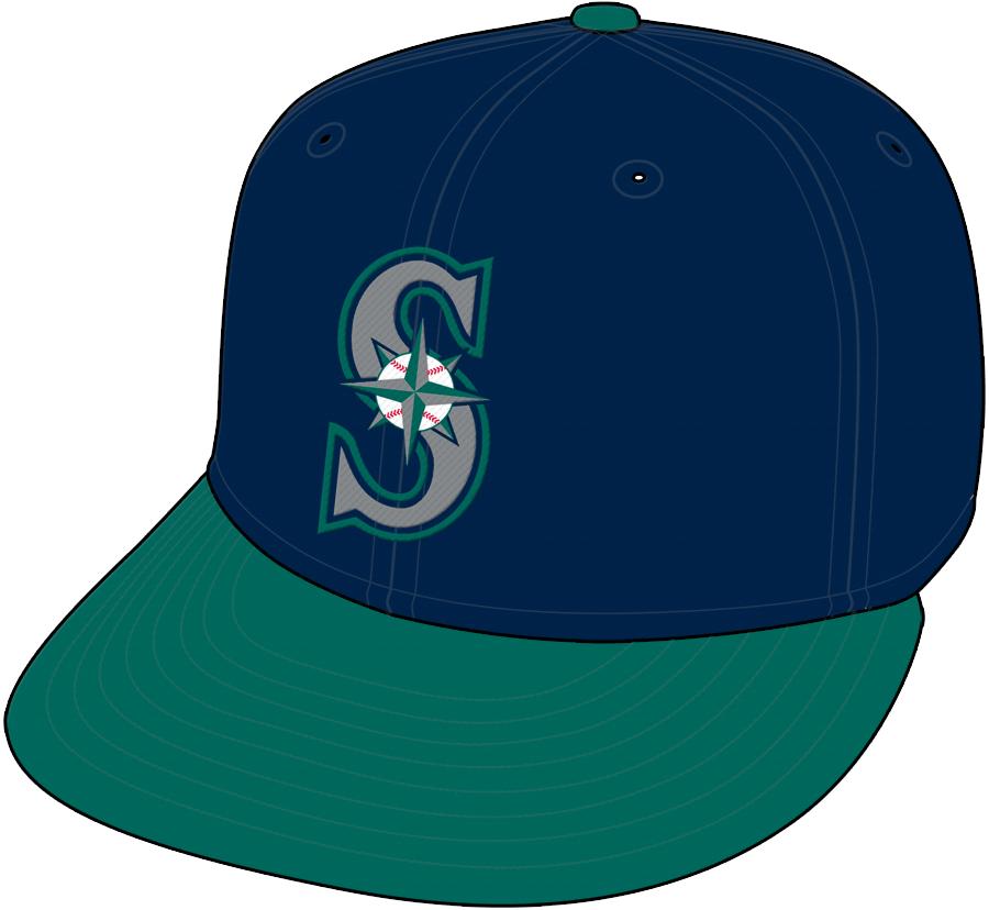 Seattle Mariners Cap Cap (1993-2003) - Home Cap SportsLogos.Net
