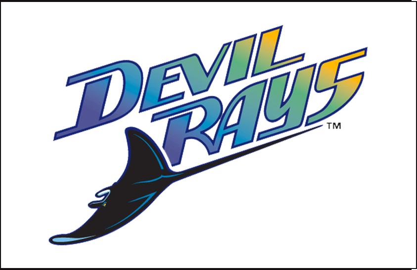 Tampa Bay Devil Rays Jersey Logo - American League (AL ...