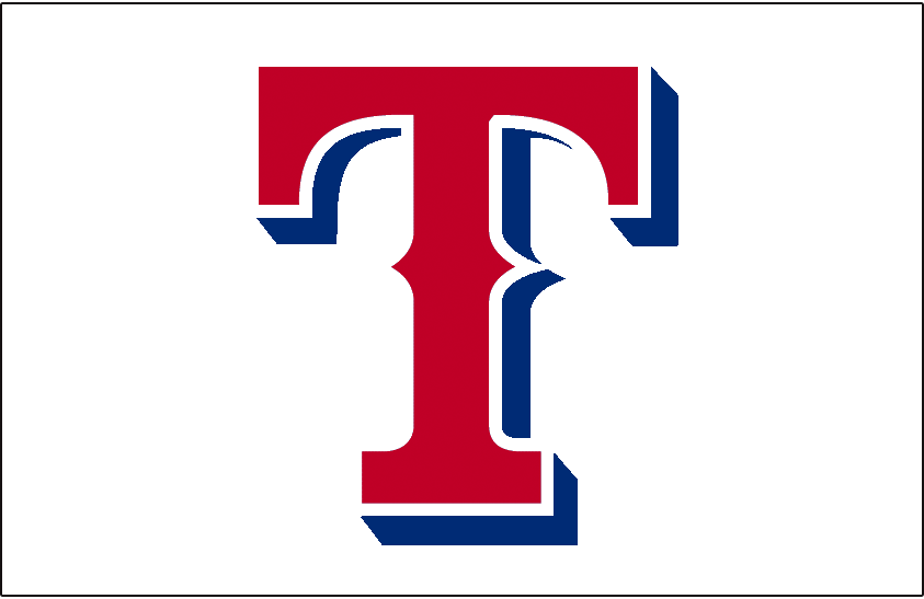 Texas Rangers Jersey Logo American League Al Chris