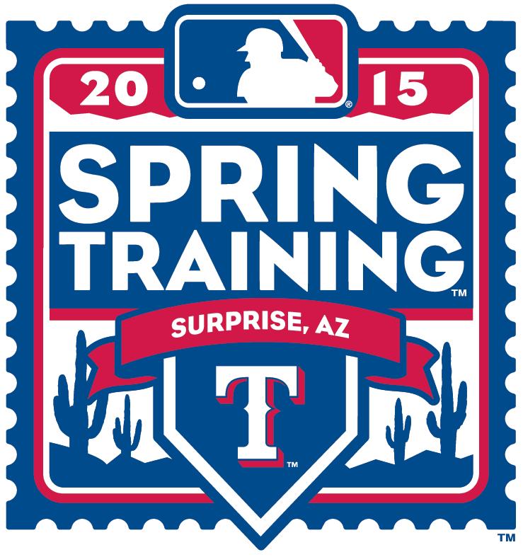 Texas Rangers Logo Event Logo (2015) - 2015 Texas Rangers Spring Training Logo SportsLogos.Net