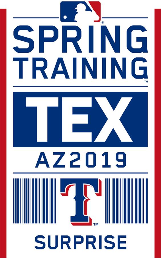 Texas Rangers Logo Event Logo (2019) - Texas Rangers 2019 Spring Training Logo SportsLogos.Net