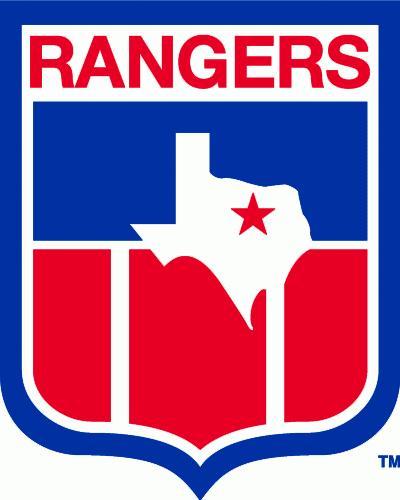 Texas Rangers Logo Alternate Logo (1977-1982) - Texas Bicentennial shield patch without years SportsLogos.Net