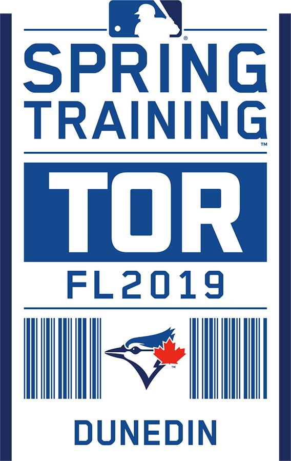 Toronto Blue Jays Logo Event Logo (2019) - Toronto Blue Jays 2019 Spring Training Logo SportsLogos.Net