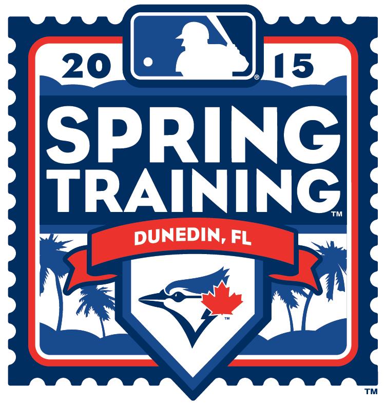 Toronto Blue Jays Logo Event Logo (2015) - 2015 Toronto Blue Jays Spring Training Logo SportsLogos.Net