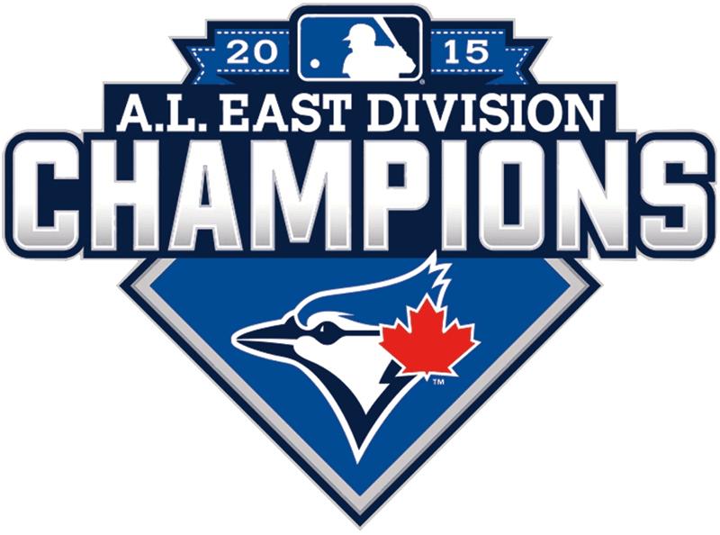 Toronto Blue Jays Logo Champion Logo (2015) - Toronto Blue Jays 2015 AL East Division Champions logo SportsLogos.Net
