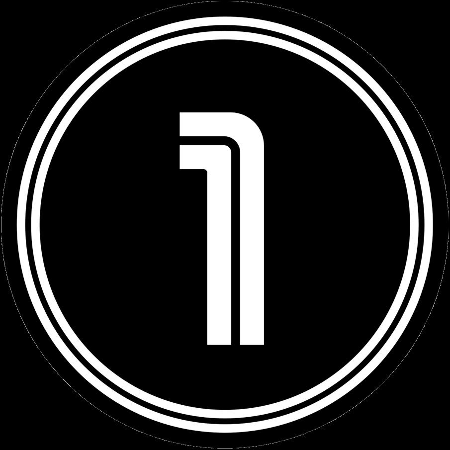 Toronto Blue Jays Logo Memorial Logo (2020) - Toronto Blue Jays Tony Fernandez memorial patch, a white 1 in retro Blue Jays font in black circle SportsLogos.Net