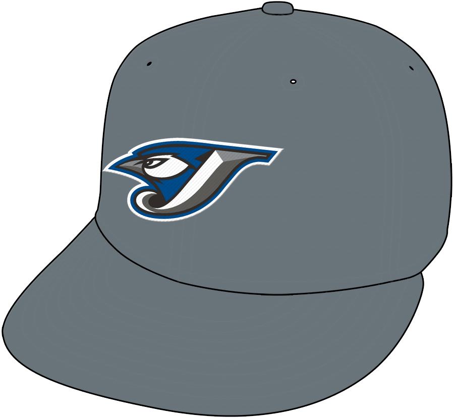 Toronto Blue Jays Cap Cap (2004-2005) - Home Cap SportsLogos.Net
