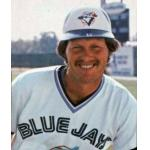 Toronto Blue Jays (1980) Ernie Whitt poses for a trading card photo wearing the Toronto Blue Jays home uniform in 1980