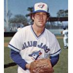 Toronto Blue Jays (1977) Mike Willis poses for a trading card photo wearing the Toronto Blue Jays home uniform during Spring Training 1977