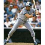 Toronto Blue Jays (1989) Ernie Whitt wearing the Toronto Blue Jays road uniform during the 1989 season