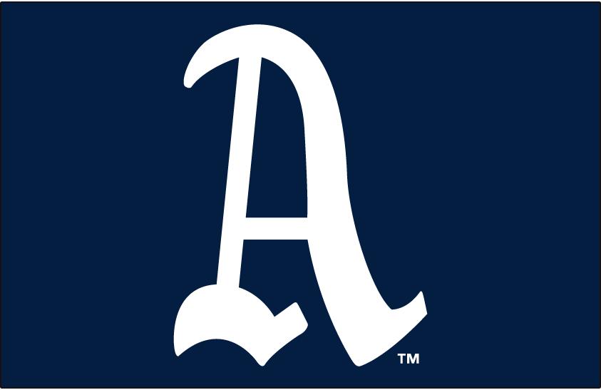 Philadelphia Athletics Logo Primary Dark Logo (1902-1919) -  SportsLogos.Net