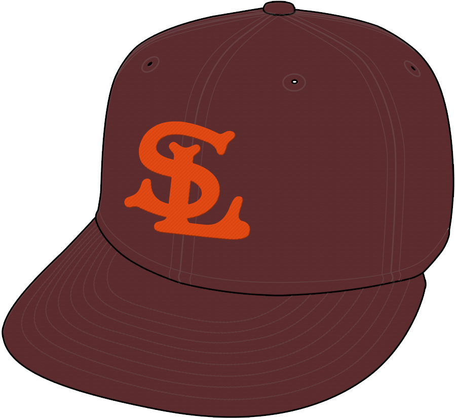 St. Louis Browns Cap Cap (1934-1938) -  SportsLogos.Net