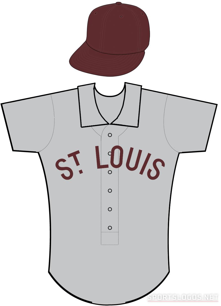 St. Louis Browns Uniform Road Uniform (1904-1905) -  SportsLogos.Net